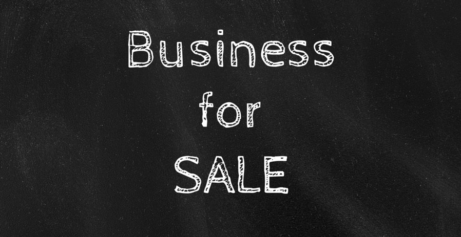 Do you have or know somebody that wants to sell their business? graphic